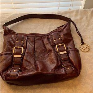 Michael Kors patent leather purse